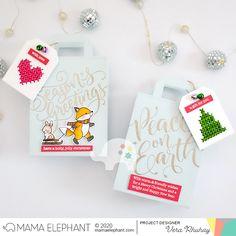 mama elephant | design blog: Dashin Thru The Snow with Vera