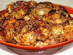 מתכון עוף עם קולה בתנור, כרעי עוף בקולה ודבש בתנור בציפוי שומשום - ארוחה נפלאה עם מרכיב מפתיע