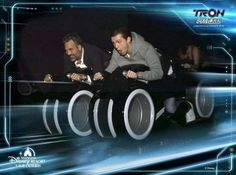 — Tom and Mark Ruffalo on the Tron ride at Shanghai Disneyland! — {@tomholland2013 #tomholland #tomholland2013 #hollanders…