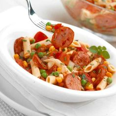 Freybe Pasta Salad with Turkey and Chicken