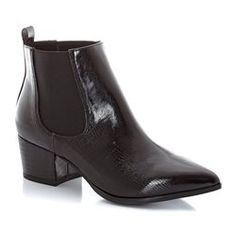 Ankle Boots, 5 cm Heel SOFT GREY