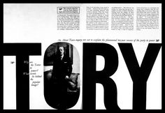 Town-Magazine_07  http://iancul.com/blog/2009/12/09/town-magazine-bw-phototypographyperfect-marriage/    Typography from a UK magazine called: Town Magazine published in 1952-1968. The magazine geared towards men was printed in black and white and was considered off-beat and funny that had cartoons, health tips etc.    http://www.magforum.com/manabouttown.htm