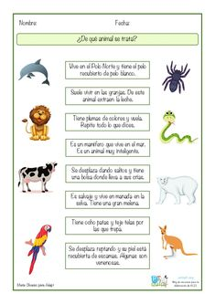 Spanish Classroom Activities, Spanish Teaching Resources, Spanish Language Learning, Learning Arabic, Speech And Language, Kids Learning, Spanish Lessons For Kids, Spanish Basics, Worksheets For Kids