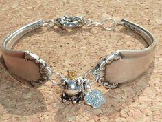 Armbänder - Damen - Armband ,Frosch mit Krone,Charm, - ein Designerstück von schmuck-checker bei DaWanda