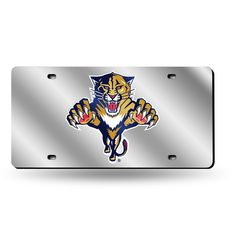 Florida Panthers Laser Cut License Plate Tag