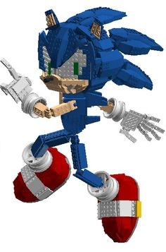 Sega's most popular video game character, Sonic the Hedgehog, is here! This highly detailed model of Sonic is fully poseable, with over 30 points of articulation. This allows ...