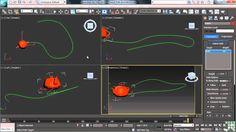 3DS Max 2013 Tutorial | Animation on a Path | InfiniteSkills