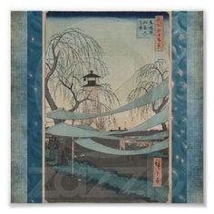 Poster-Vintage Japanese Art-Ando Hiroshige 6