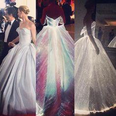 "Makeupbynongchat on Instagram: ""Wow!!! @zacposen I love it ❤️❤️❤️❤️❤️ #metgala2016 #dress #wonderful"""