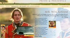 Mr. Wickham's Description - Pride & Prejudice (2005) #janeausten #joewright #fanart