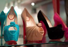 Zapatos de colores: Modernos zapatos de moda colores varios