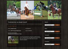 Wordpress Plugin für Turnier-Verwaltung. Von Nicole im 2.Semester. Wordpress Theme, Web Project, Applied Science, University, Student, Projects, Horseback Riding, Places, Log Projects
