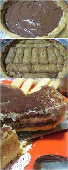 Crostata tiramisù, due dolci in uno! #crostata #tiramisu #ricettegustose