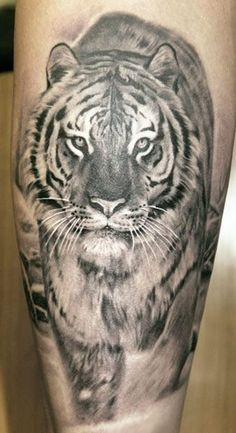 Tattoo Lust: Lion and Tiger Tattoos | Fonda LaShay // Design | Fonda LaShay // Design → more on fondalashay.com/blog