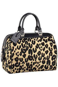 Louis Vuitton Leopard Speedy Bag