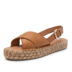 crossed camel bicolor espadrille espadrilles made in spain leather shoes sandals alohas hawaii