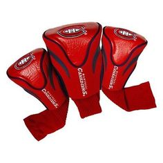 Team Golf Montreal Canadiens 3Pk Contour Sock Headcovers 14494