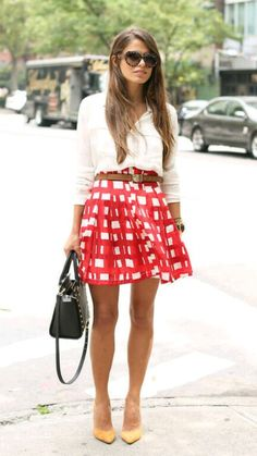 Love shirt and skirt