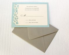 Petal Cutout RSVP Cards from Timeless Paper