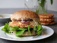 You searched for Paprika - Beaufood Vegan Recepies, Diner Recipes, Good Food, Yummy Food, What To Cook, Salmon Burgers, Veggie Burgers, Food For Thought, Brunch