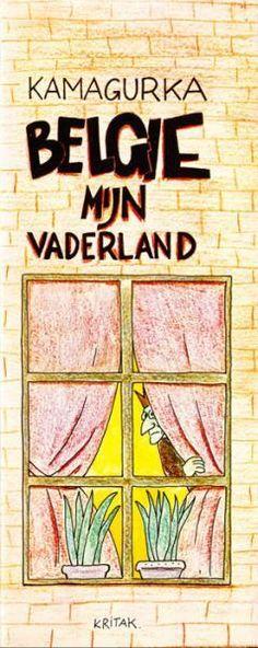 Bert (Kamagurka) 4 België mijn vaderland - stripinfo.be
