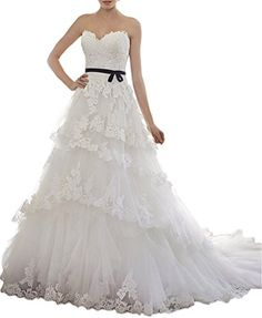 MILANO BRIDE Elegant Ball Gown Strapless Applique Belt We... https://www.amazon.com/dp/B01EOGY0GA/ref=cm_sw_r_pi_dp_x_fc9Tyb1VKKAWG