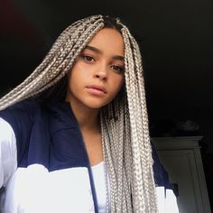 braid hairstyles for school Popular Haircuts - All For Wedding Hair Style Braided Hairstyles For School, Natural Afro Hairstyles, African Braids Hairstyles, Black Girls Hairstyles, Straight Hairstyles, Braid Hairstyles, Black Girl Braids, Girls Braids, Twist Braids