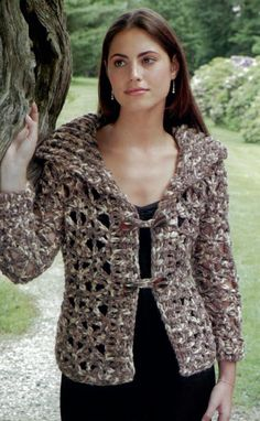 Crochet Patterns, Free Crochet Pattern--for me, no rosette and wear over LS t-shirt!╭⊰✿Teresa Restegui http://www.pinterest.com/teretegui/✿⊱╮