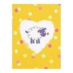 funny farm woolly sheep fleece blanket