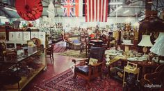 Salt Lake City Capital City Antique Mall. #saltlakecity #cityhomeCOLLECTIVE #antique