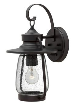 Single Light Outdoor Wall Sconce