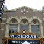 Michigan Theatre features classic films and is a classic historical site