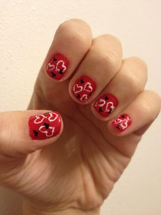 Heart Nail Design!