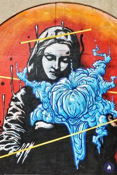 Beautiful street art from London streets.