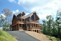 Gatlinburg, TN: If you are looking for Spectacular Views this is the cabin for you! With views that are endless you will feel like you are walking on a cloud! This go...