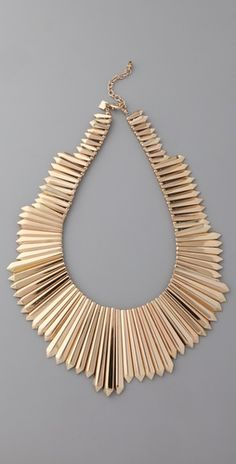 Belle Noel Mini Dagger Collar Necklace $188