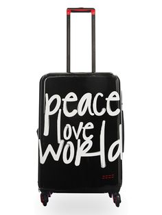 Peace Love World Hardside Spinner