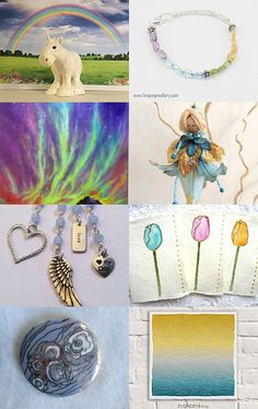 Happy National Unicorn Day!!! by Bianca BsCozyCottageCrafts, LLC on Etsy--Pinned with TreasuryPin.com