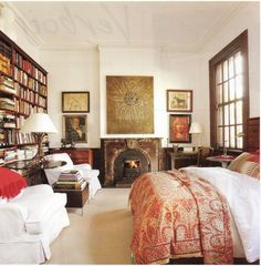 global/study styled bedroom - CA House & Home magazine, Feb. 2012