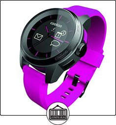 Reloj Cookoo SmartWatch Bluetooth 4.0 Negro/Rosa para iPhone,iPad,iPod Touch (iOS 5 / iOS 6) ✿ Relojes para mujer - (Gama media/alta) ✿