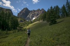 Three Fingered Jack, Canyon Creek Meadows, Oregon
