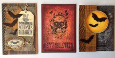 Die schlichte Karte: Halloween Karten