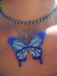 комплект бабочки | biser.info - всё о бисере и бисерном творчестве