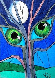 THE TREE HAS EYES #3 ACEO ON EBAY