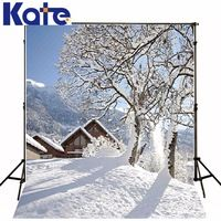 New Arrival Background Fundo Ice And Snow Trees 600Cm*300Cm Width Backgrounds Lk 2358