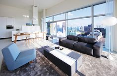 In case you are tired of your old same living room design here are 10 Ways To Redesign Your Modern Living Room! Luxury Interior Design, Interior Design Inspiration, Living Room Sofa, Living Room Decor, Unique Floor Lamps, Plus Tv, Contemporary Home Decor, Contemporary Design, Beautiful Living Rooms