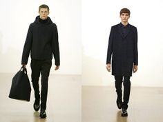 basic silhouettes with mixed details and interesting textiles