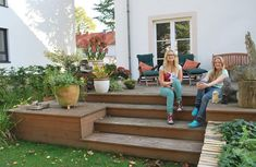 garden products made of wood. Fencing privacy patios or E garden products made of wood. Fencing privacy patios or E Terrace Design, Deck Design, Garden Design, Deck Stairs, House Deck, Outdoor Furniture Sets, Outdoor Decor, Garden Inspiration, Outdoor Living