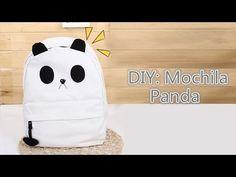 DIY: Mochila Panda | Panda Backpack - YouTube
