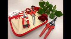 Beautiful RED that will get you growing in the spring garden : join us on #gardenchat to find out more! @Corona Tools